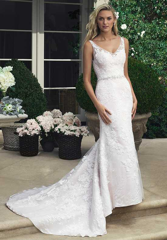 Casablanca Bridal 2204 Sheath Wedding Dress