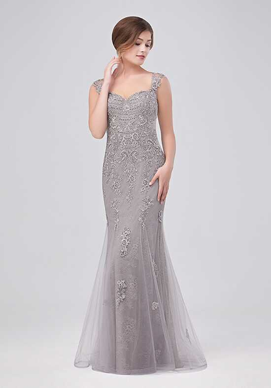 Val Stefani Celebrations MB7634 Silver Mother Of The Bride Dress