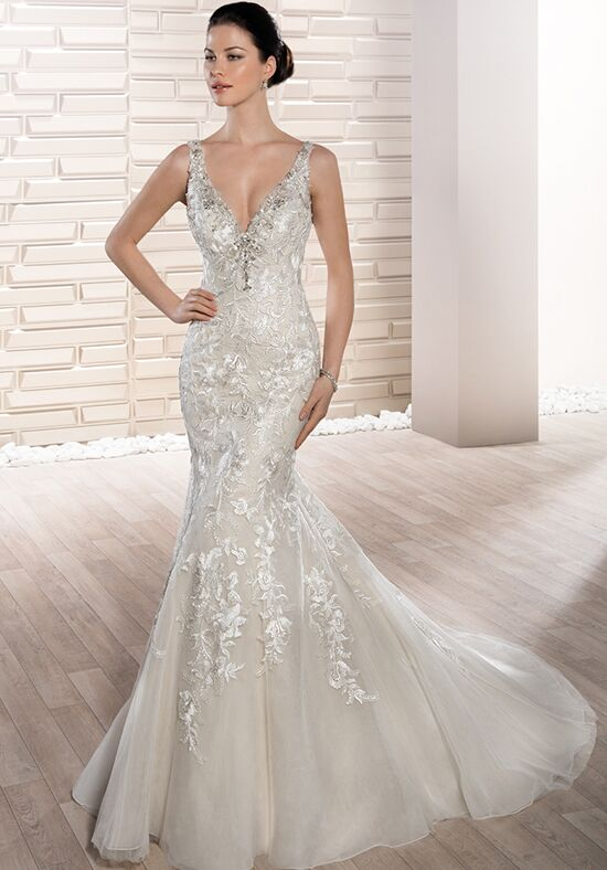 Demetrios 669 Mermaid Wedding Dress