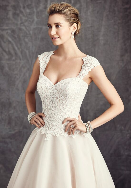 Kenneth Winston: Ella Rosa Collection BE275 Ball Gown Wedding Dress