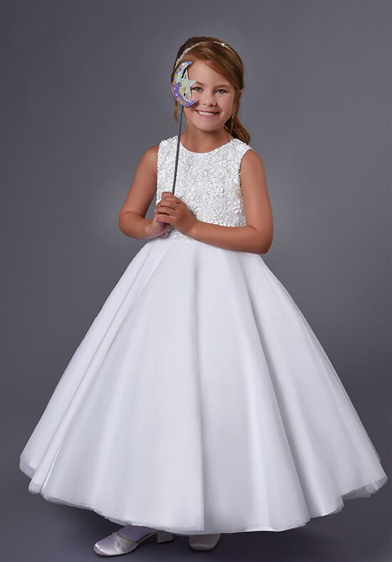 Cupids by Mary's F559 Ivory Flower Girl Dress