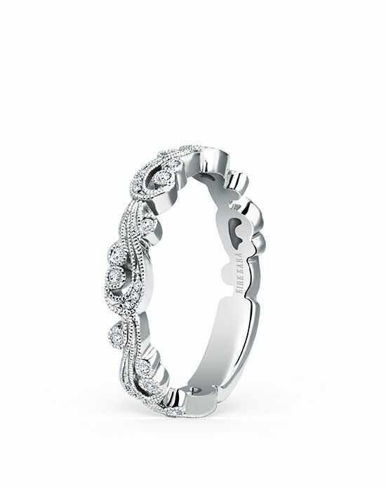 Kirk Kara Angelique Collection SS6967 - BS1 White Gold Wedding Ring