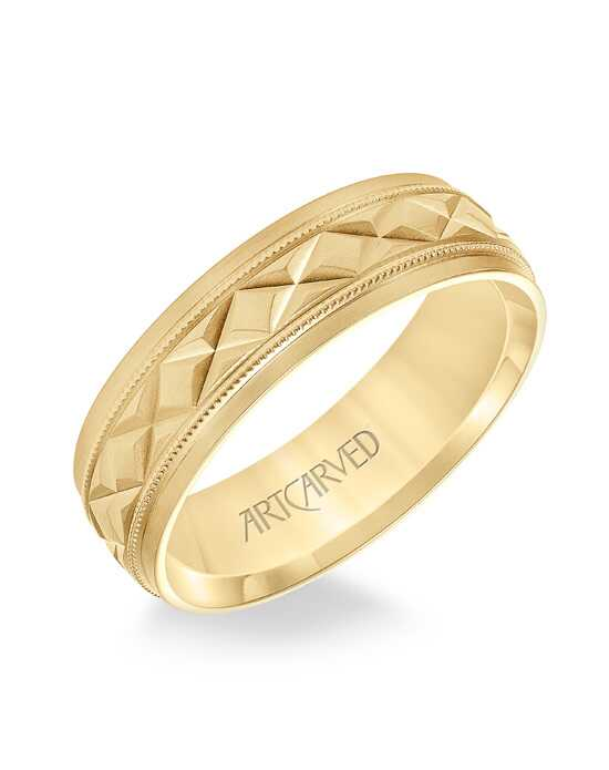 ArtCarved 11-WV8878W65 Gold Wedding Ring