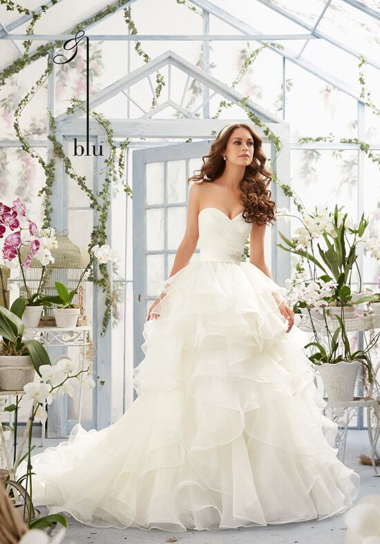 Morilee by Madeline Gardner/Blu 5401 Ball Gown Wedding Dress