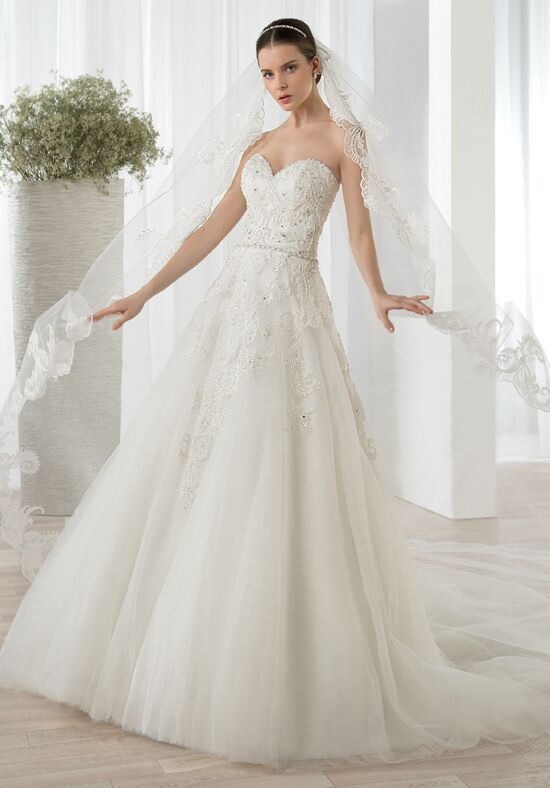 Demetrios 614 Ball Gown Wedding Dress