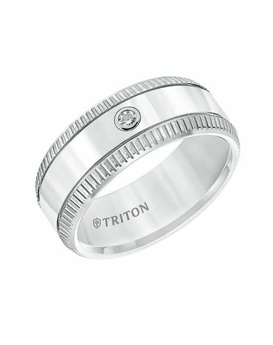 Triton 22-5811HC-G Tungsten Wedding Ring