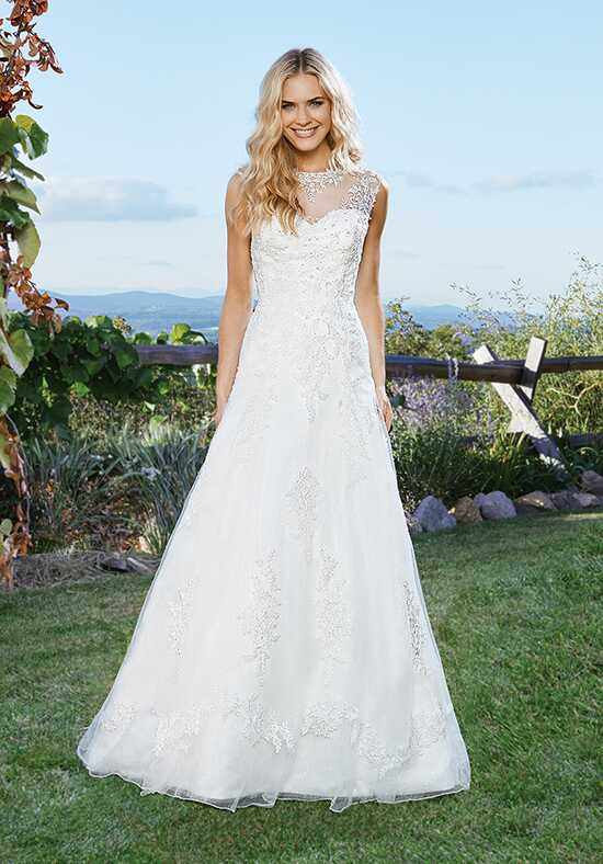 Lillian West 6432 A-Line Wedding Dress