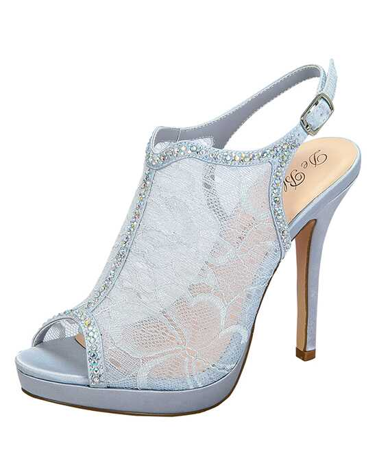 De Blossom Collection Marna-52 Silver Shoe