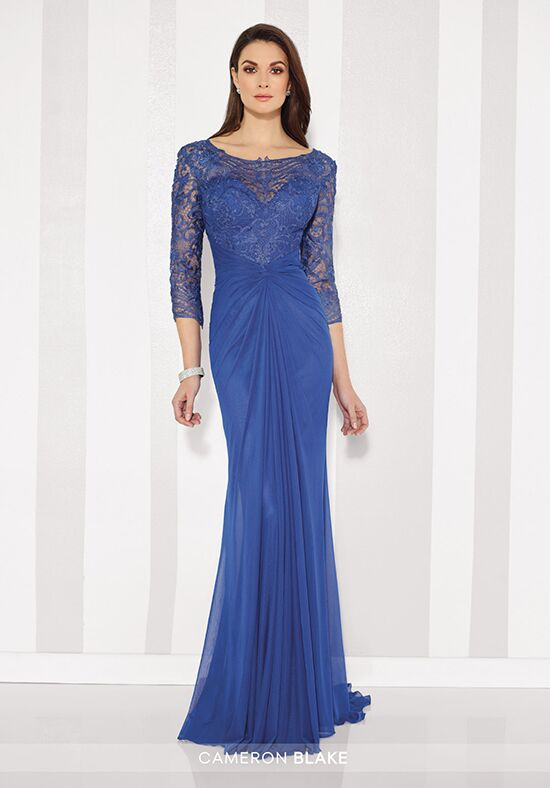 Cameron Blake 216677 Blue Mother Of The Bride Dress