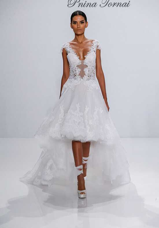 Pnina Tornai for Kleinfeld 4542 Ball Gown Wedding Dress