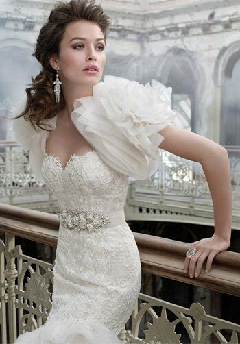 Lazaro 3201 Mermaid Wedding Dress