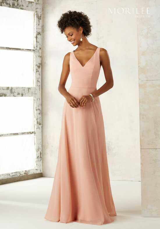 Morilee by Madeline Gardner Bridesmaids 21513 V-Neck Bridesmaid Dress