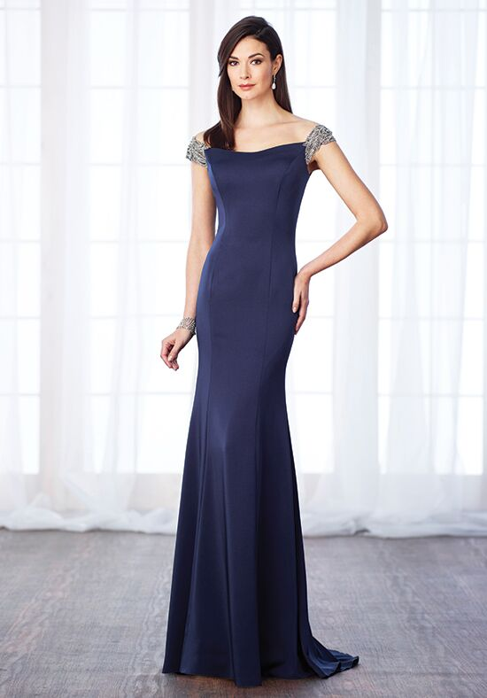 Cameron Blake 217633 Blue Mother Of The Bride Dress