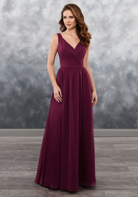 Amalia by Mary's Bridal MB7027 V-Neck Bridesmaid Dress