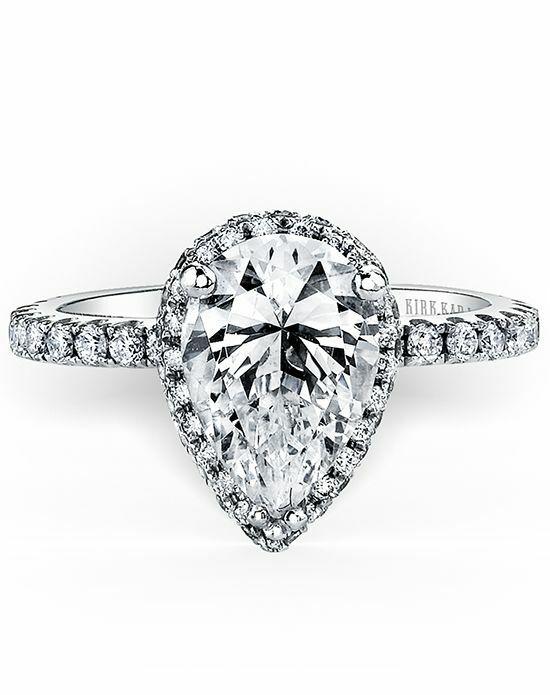Kirk Kara Carmella Collection K1005DI-R Engagement Ring ...