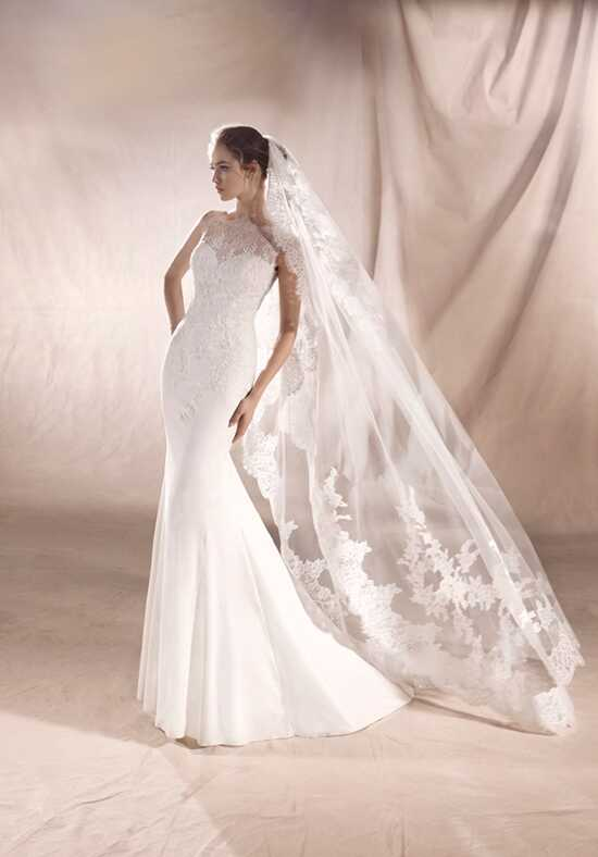 WHITE ONE SATURN Mermaid Wedding Dress