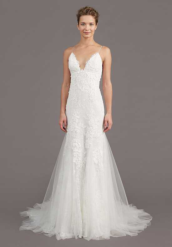 Amsale Kalel Sheath Wedding Dress