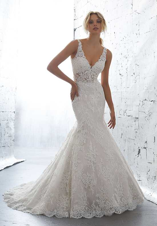 AF Couture: A Division of Morilee by Madeline Gardner Karla/1705 Mermaid Wedding Dress