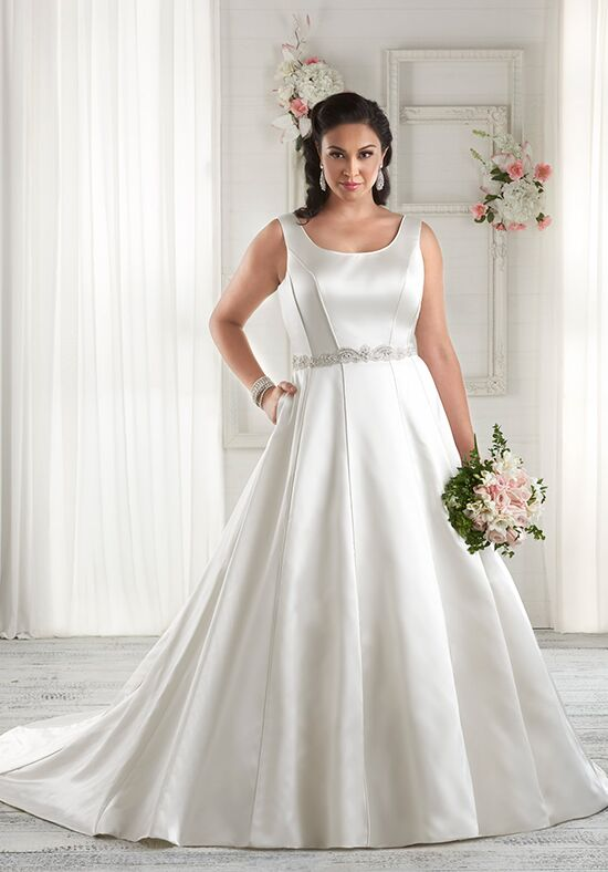 Unforgettable by Bonny Bridal 1602 A-Line Wedding Dress