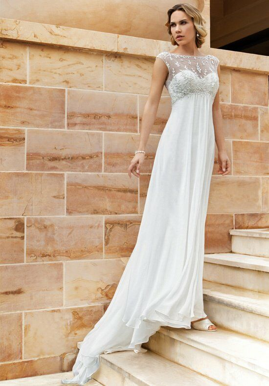 Demetrios DR187 A-Line Wedding Dress