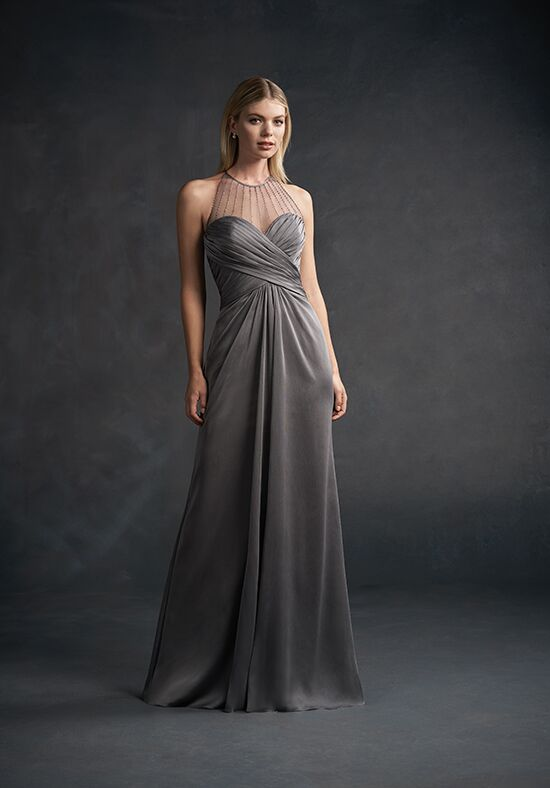 Belsoie L194054 Illusion Bridesmaid Dress