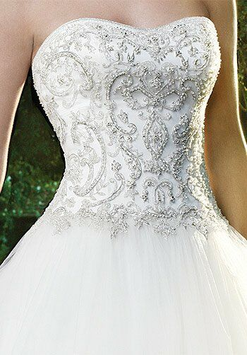 Casablanca Bridal 2071 Ball Gown Wedding Dress