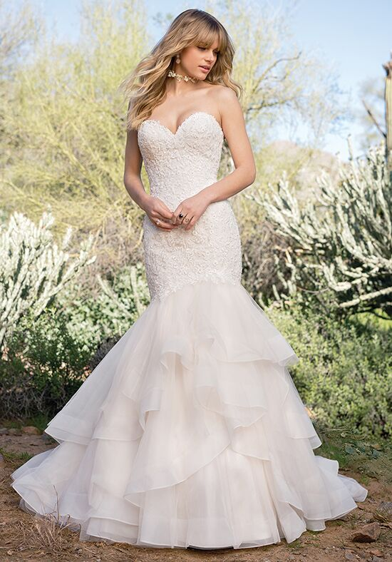 Lillian West 6528 Mermaid Wedding Dress