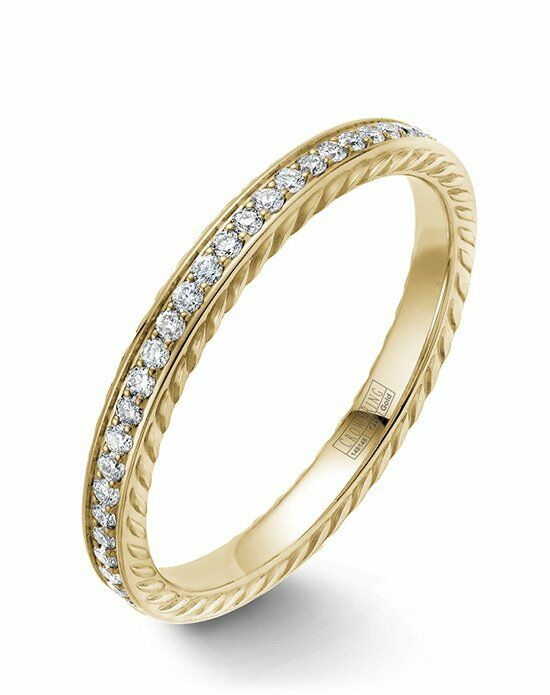 CrownRing WB-029RD25Y-M6 Gold Wedding Ring