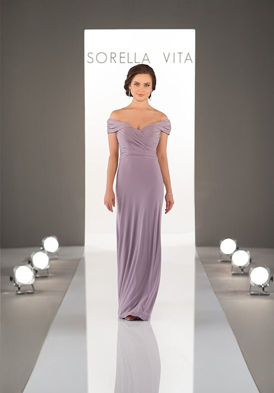 Sorella Vita 8996 Off the Shoulder Bridesmaid Dress