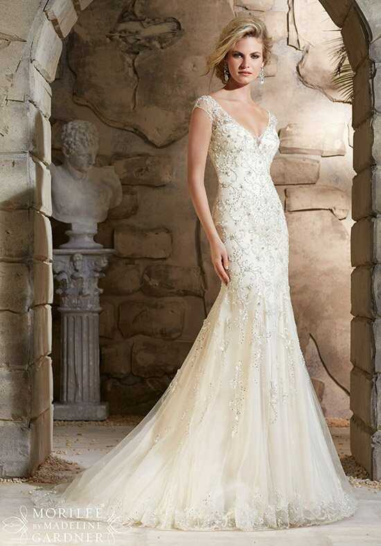 Morilee by Madeline Gardner 2788 Sheath Wedding Dress