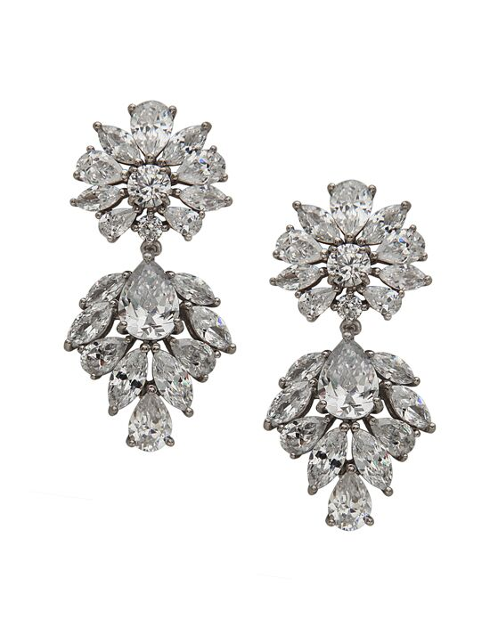 Nina Bridal Wedding Jewelry Thalia Wedding Earring photo