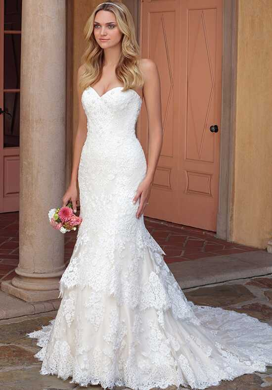 Casablanca Bridal 2327 Lacey A-Line Wedding Dress