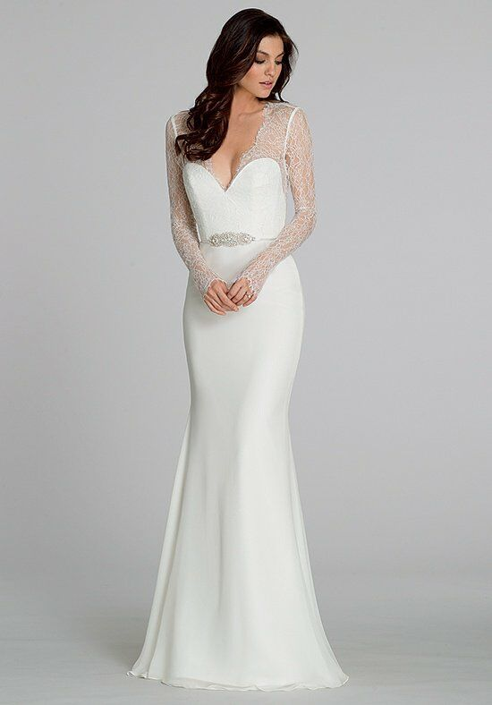 Tara Keely by Lazaro 2551 Sheath Wedding Dress