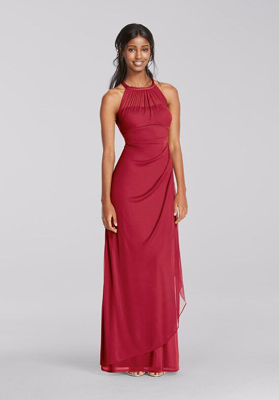 David's Bridal Collection David's Bridal Style F15662 Illusion Bridesmaid Dress