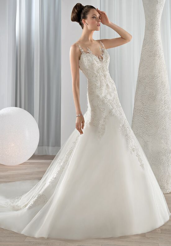 Demetrios 629 A-Line Wedding Dress
