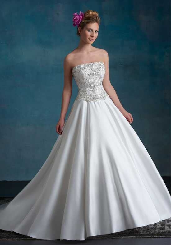 1 Wedding by Mary's Bridal 6555 A-Line Wedding Dress