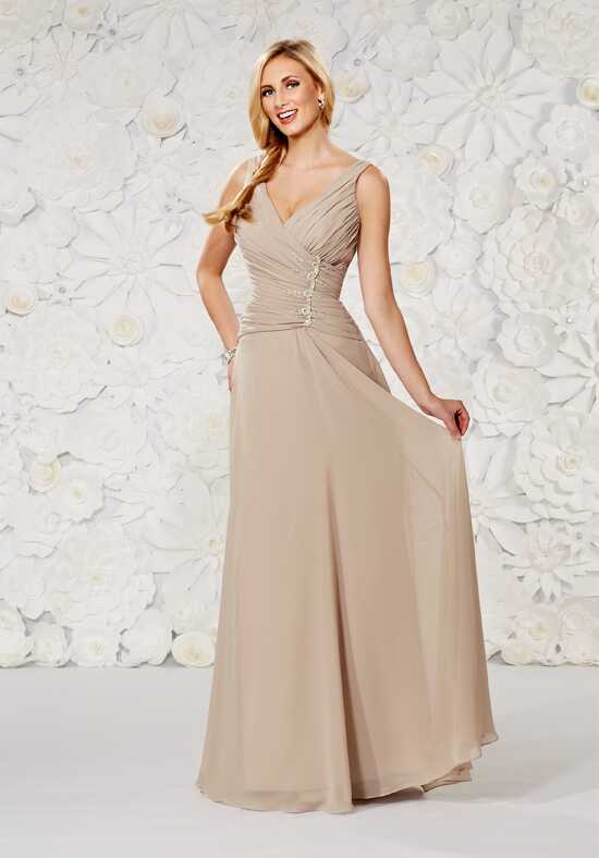 1 Wedding by Mary's Modern Maids M1808 V-Neck Bridesmaid Dress