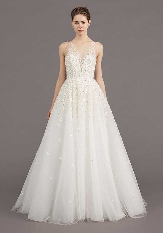 Amsale Callie Ball Gown Wedding Dress
