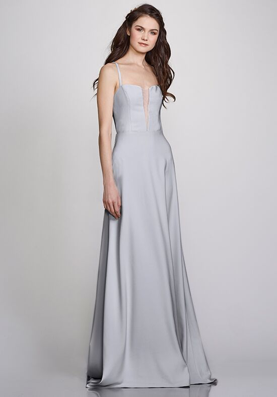 THEIA Bridesmaids Stephanie V-Neck Bridesmaid Dress