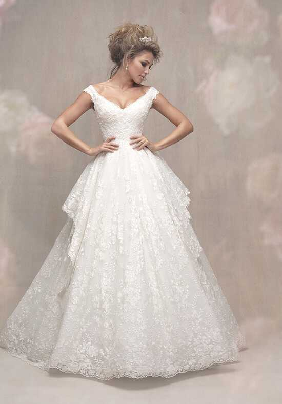 Allure Couture C456 Ball Gown Wedding Dress