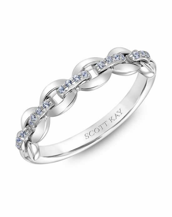 Scott Kay 31-SK5615W-L Platinum Wedding Ring