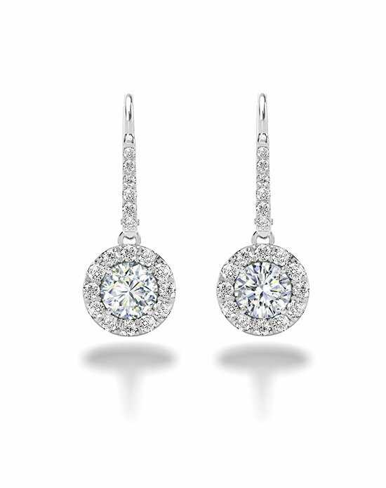 Forevermark Diamonds CENTER OF MY UNIVERSE™ HALO DROP EARRINGS-31159 Wedding Earring photo