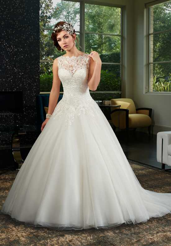 1 Wedding by Mary's Bridal 6442 Ball Gown Wedding Dress