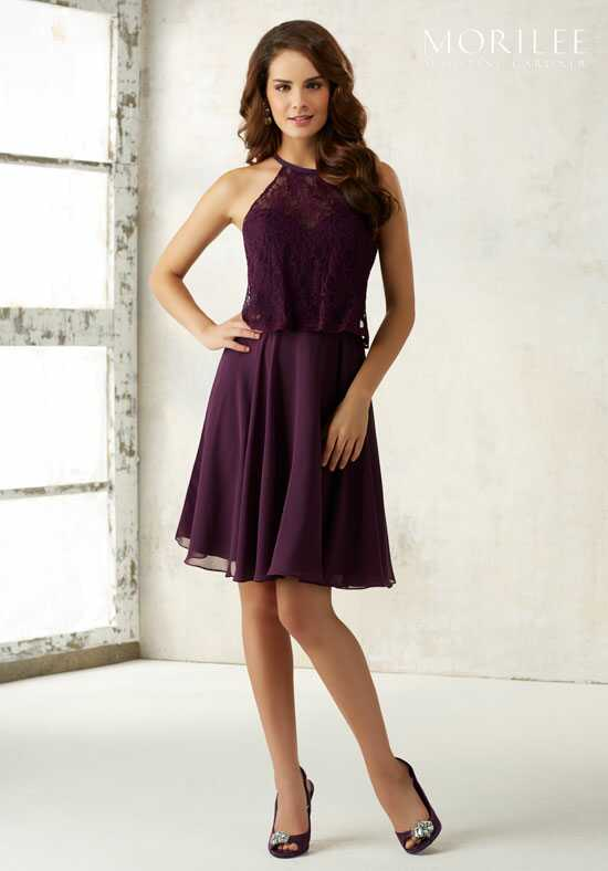 Morilee by Madeline Gardner Bridesmaids 21524 Halter Bridesmaid Dress