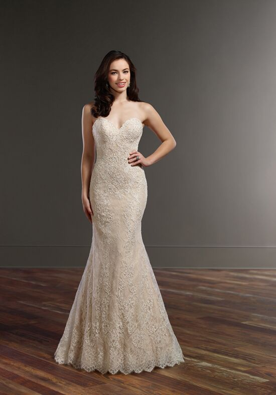 Martina Liana 857 Mermaid Wedding Dress