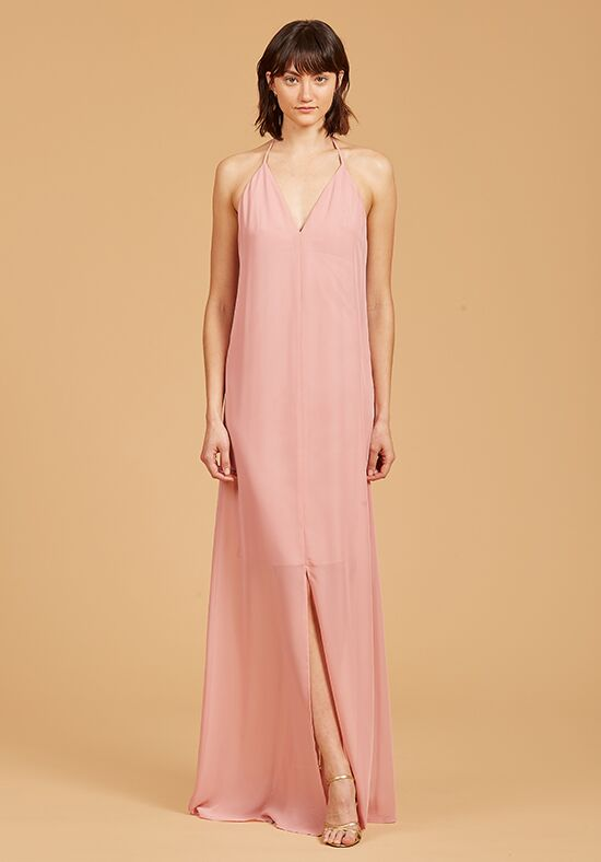 Nouvelle Amsale Bridesmaids Hilary V-Neck Bridesmaid Dress