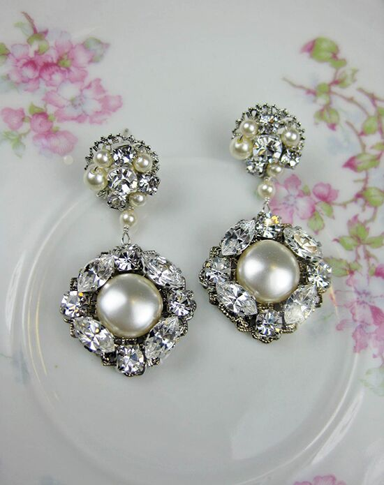 Everything Angelic Caroline Earrings - e333 Wedding Earring photo