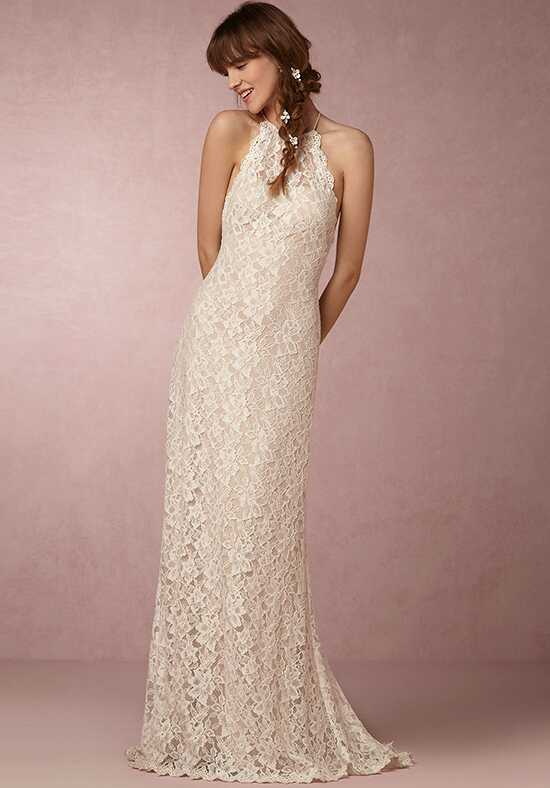 BHLDN Mina Sheath Wedding Dress