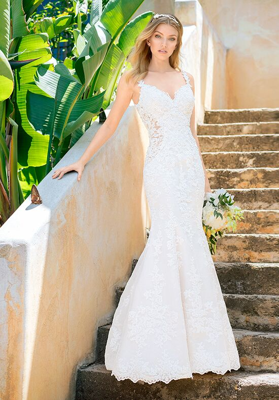 Val Stefani Oleander Mermaid Wedding Dress