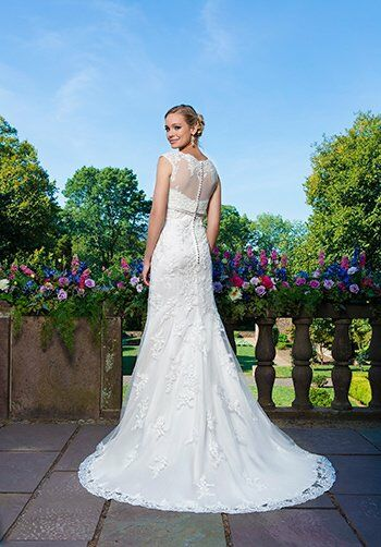 Sincerity Bridal 3871_old Mermaid Wedding Dress